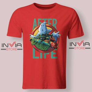 Ghostbusters Afterlife Tshirt Red