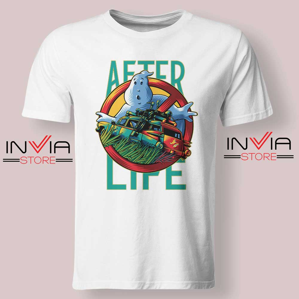 Ghostbusters Afterlife Tshirt White
