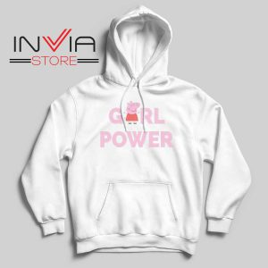 Girl Power Peppa Pig Hoodie