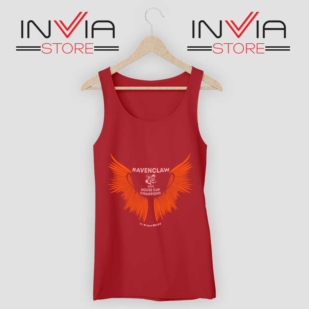 House Cup Champions Tank Top Red