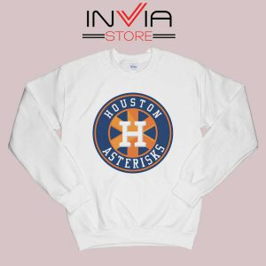 Houston Asterisks Logo Sweatshirt White