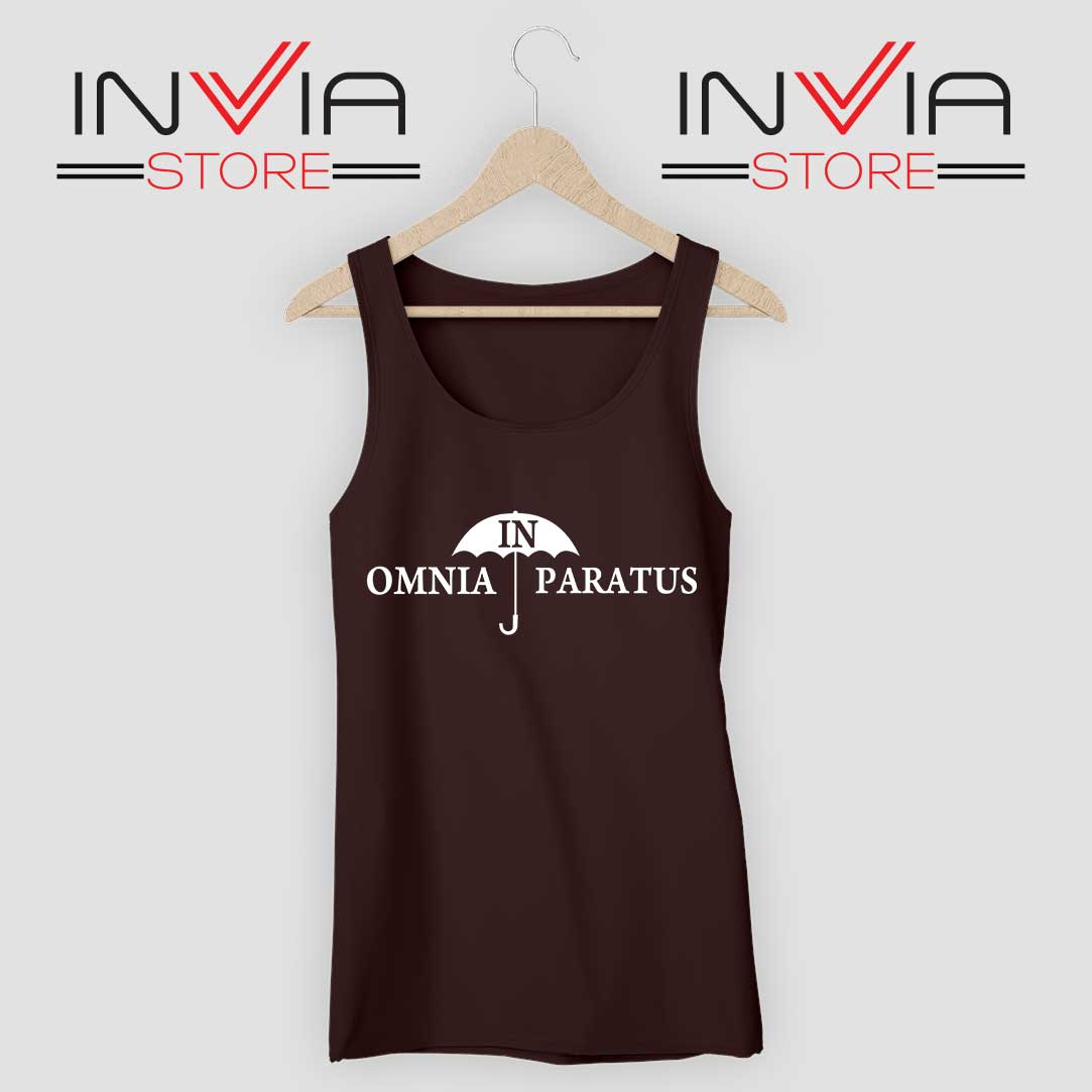 In Omnia Paratus Tank Top Black