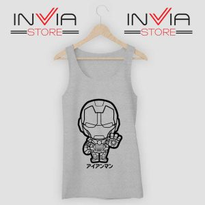Iron Man Japanese Chibi Tank Top