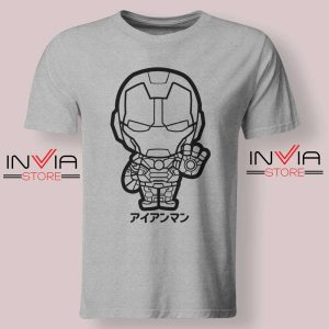 Iron Man Japanese Chibi Tshirt