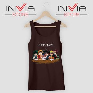 Japanese Super Heroes Friends Tank Top