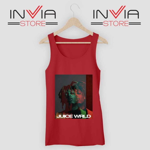 Juice Wrld 999 Poster Tank Top Red