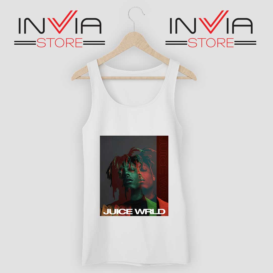 Juice Wrld 999 Poster Tank Top White