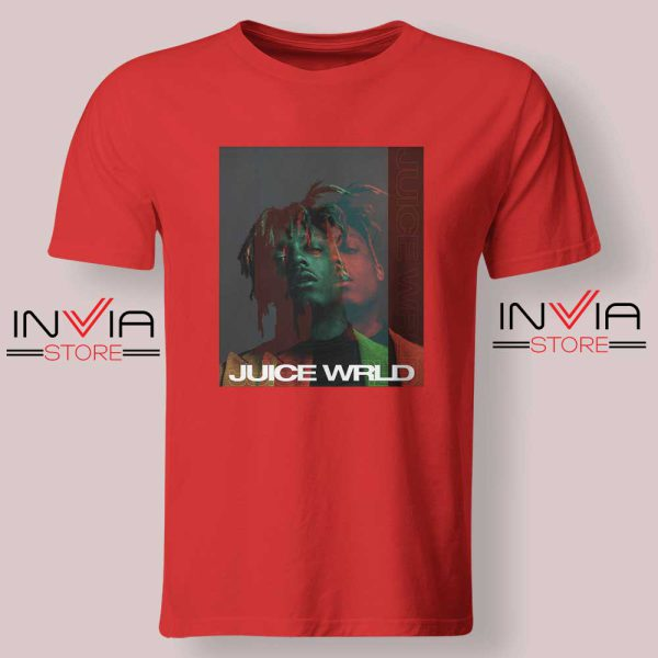 Juice Wrld 999 Poster Tshirts Red