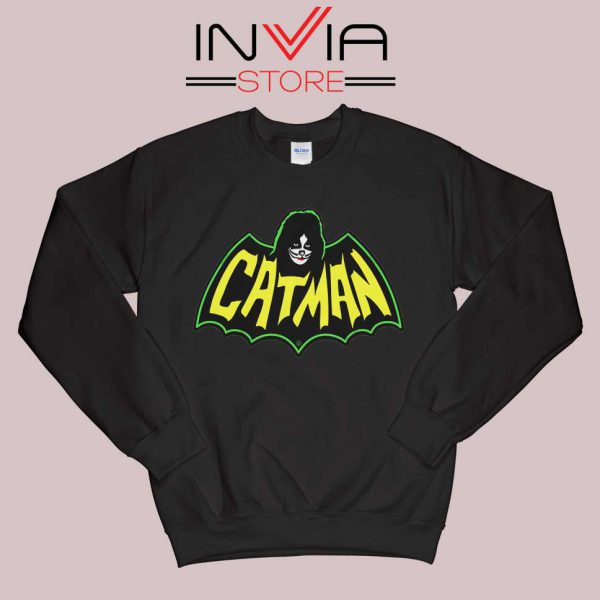 Kiss Drummer Catman Sweatshirt