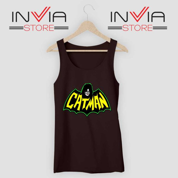 Kiss Drummer Catman Tank Top