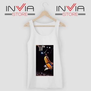 Kobe Bryant Dunk Best NBA Tank Top White