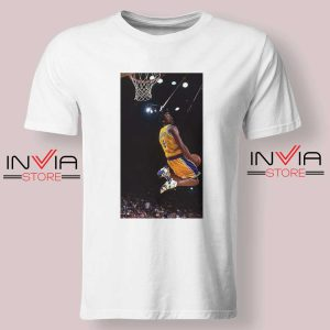 Kobe Bryant Dunk Best NBA Tshirt White