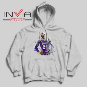 Kobe Star Player Bryant Hoodie Grey