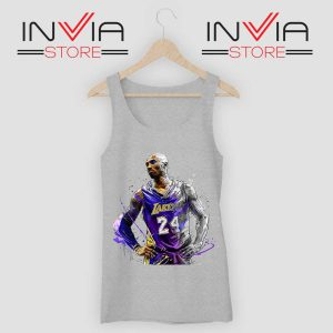 Kobe Star Player Bryant Tank Top Grey