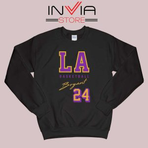 LA Legend Basketball Kobe Bryan Sweatshirt Black