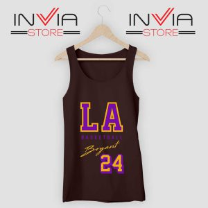 LA Legend Basketball Kobe Bryan Tank Top Black