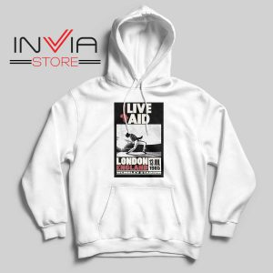 Live Aid Poster at Wembley Hoodie