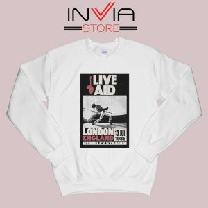 Live Aid Poster at Wembley Sweatshirt