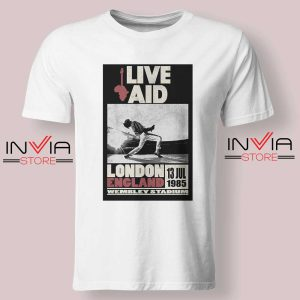 Live Aid Poster at Wembley Tshirt