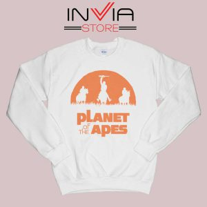 Monkey Warriors Sweatshirt White