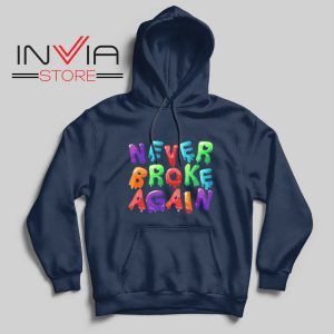 Never Broke Again NBA Hoodie Navy