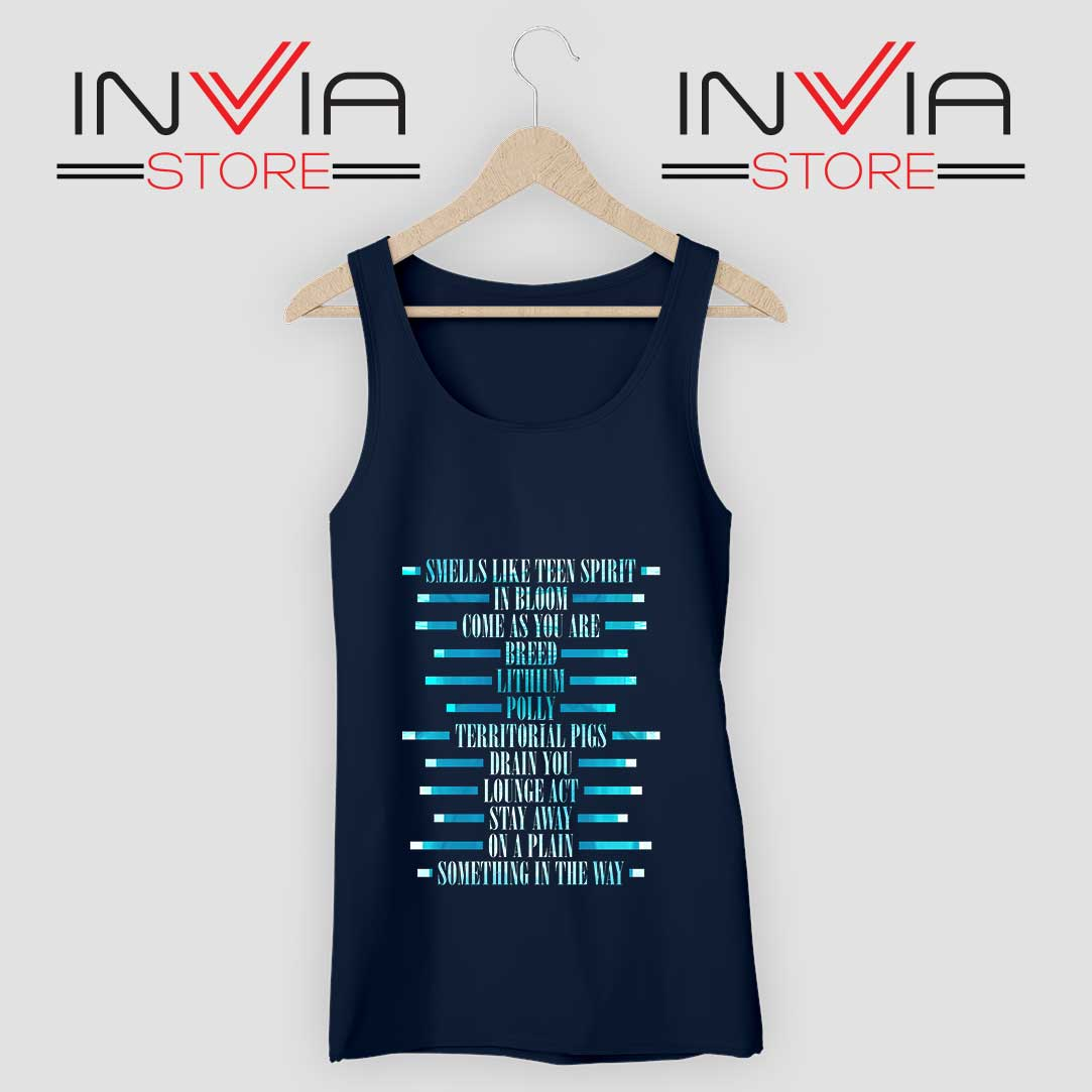 Nevermind Studio album Tank Top Navy