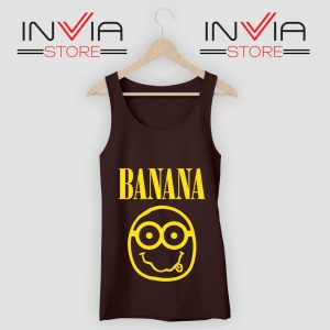 Nirvana Banana Minions Tank Top
