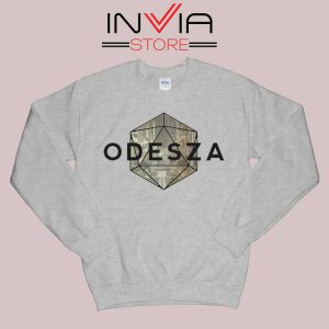 Odeza Electronic Duo Sweatshirt Grey