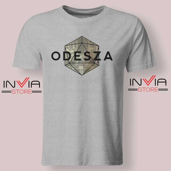 Odeza Electronic Duo Tshirt Grey