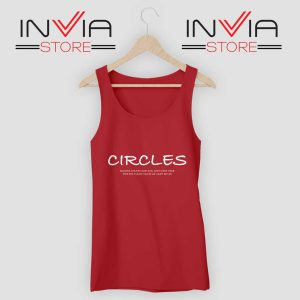 Post Malone Circles Lyrics Tank Top