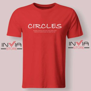 Post Malone Circles Lyrics Tshirt