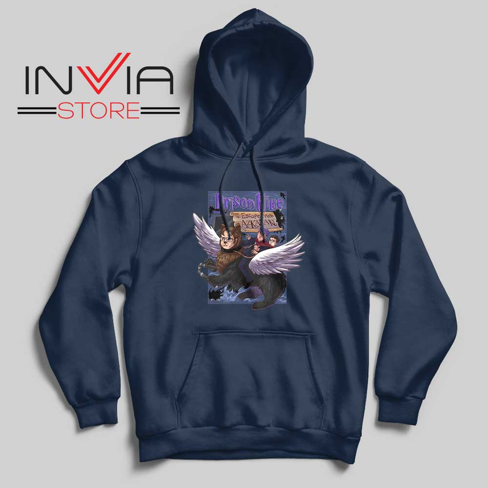 Prison Mike and the Escape from Azkaban Hoodie Navy