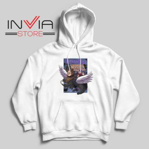 Prison Mike and the Escape from Azkaban Hoodie White