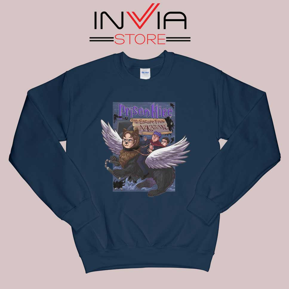 Prison Mike and the Escape from Azkaban Sweatshirt Navy