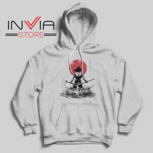 Pure of Heart Warrior Hoodie Grey