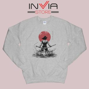 Pure of Heart Warrior Sweatshirt Grey