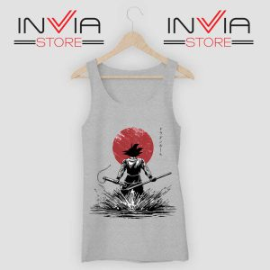 Pure of Heart Warrior Tank Top Grey