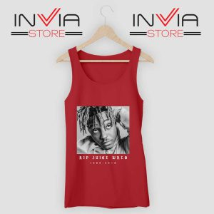 RIP Juice Wrld Tank Top Red