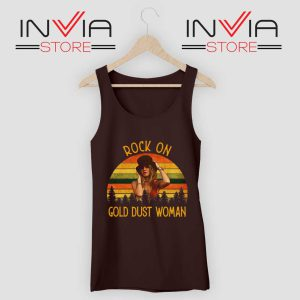 Rock On Gold Dust Woman Tank Top