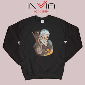 Salt Bae Witcher Geralt Sweatshirt