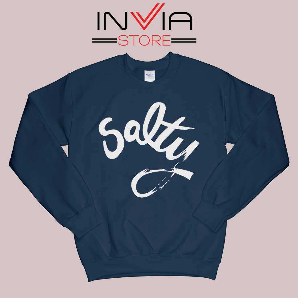 Salty Meme Sweatshirt Navy