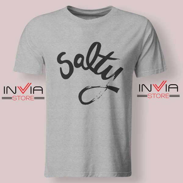 Salty Meme Tshirt Grey
