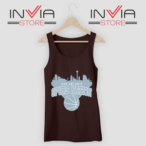 San Antonio Spurs Nation Tank Top