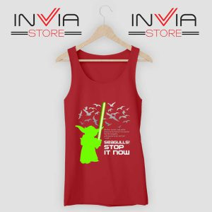 Seagulls Stop It Now Tank Top Red