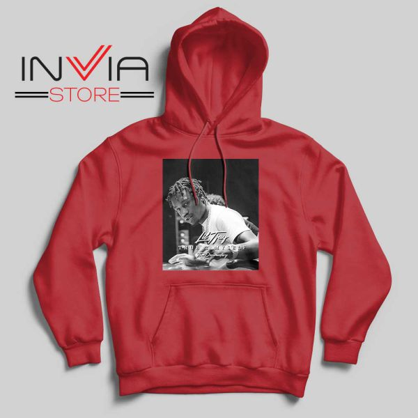 Sixya New Lil True 2 to Myself Hoodie Red