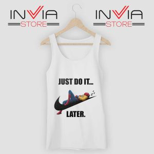 Spider Man Just Do it later Tank Top