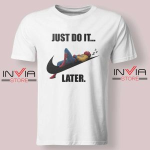 Spider Man Just Do it later Tshirt