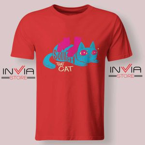 Squish that Cat Tshirt Red