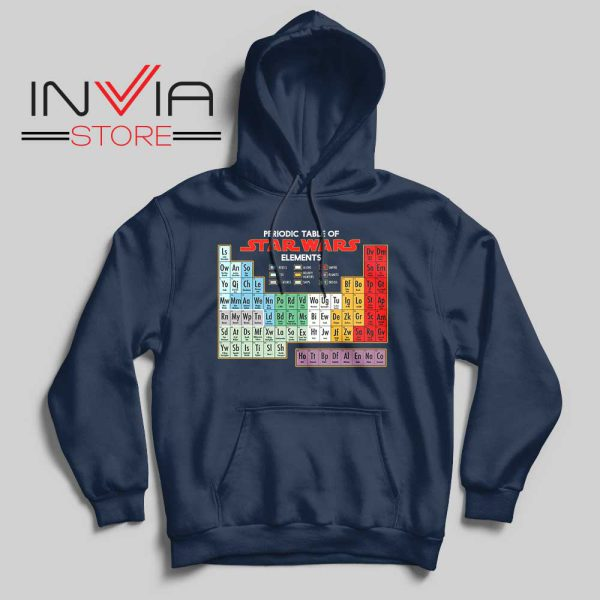 Star Wars Periodic Table Hoodie Navy