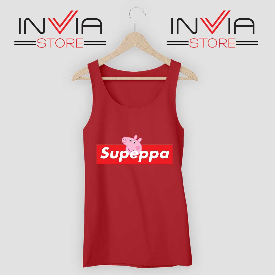 Supeppa Supreme Tank Top Red